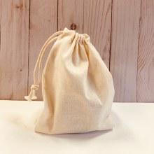 "Organic Cotton Bulk Bag, 5"""