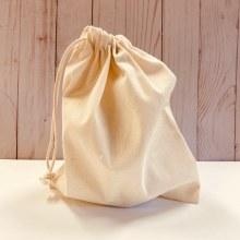 "Organic Cotton Bulk Bag, 8"""