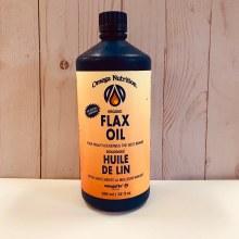 Omega Organic Flax Oil, 946mL