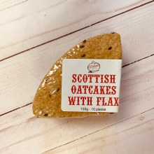Oatcakes with Flax