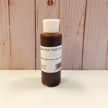 Organic Pure Vanilla Extract, 130mL