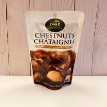 Dan-D-Pak Organic Chestnuts, 100g