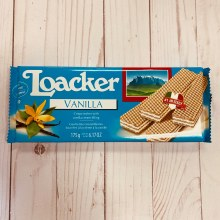Loacker Wafer Cookies - Vanilla, 170g