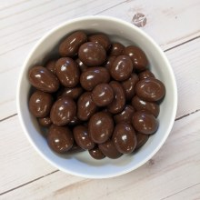 Milk Chocolate-Covered Almonds