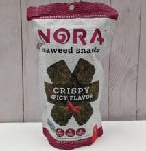 Nora Seaweed Snacks - Spicy Crispy Seaweed Flavour
