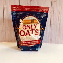 Only Oats Gluten-Free Oats, 1kg - Quick Oats