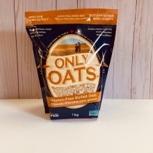 Only Oats Gluten-Free Oats, 1kg - Rolled Oats