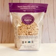 Wescana Organic Gluten-Free Rolled Oats, 1kg