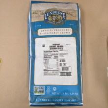 Organic Short Grain Brown Rice, 11.34kg