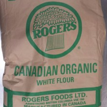 Organic White Flour, 20kg