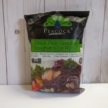Peacock Black Rice Spaghetti, 200g