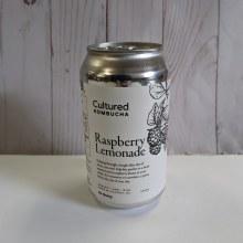 Cultured Kombucha, 355mL - Raspberry Lemonade