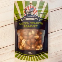 Spanish Peanuts, Salted, 100g