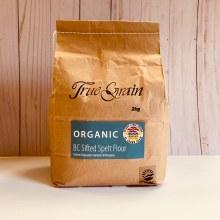 True Grain Organic Sifted Spelt, 2kg