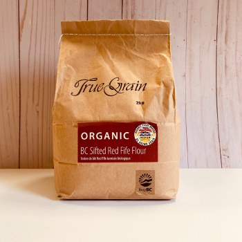 True Grain Organic Sifted Red Fife Flour, 2kg