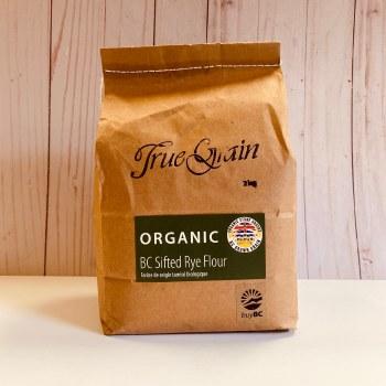 True Grain Organic Sifted Rye Flour, 2kg