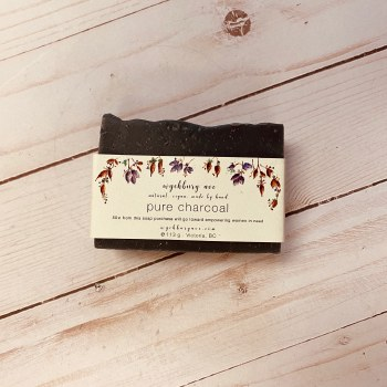 Wychbury  Ave Soaps - Pure Charcoal Bar - Unscented