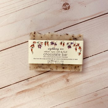 """Wychbury  Ave Soaps - """"Chocolate"""" Bar - Unscented"""