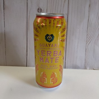 Guayaki Yerba Mate Drinks, 458mL - Revel Berry