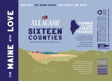 ALLAGASH 16 COUNTIES 4PK, CANS