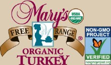 Turkey Deposit, Mary's, 12-16lbs, Org