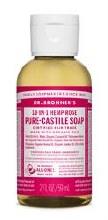 Bronners Org Rose Liquid Soap