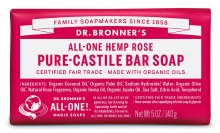 Bronners Rose Soap Bar