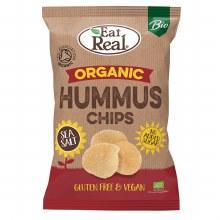 Organic Hummus Chips Sea Salt