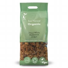 Org Dried White Mulberries