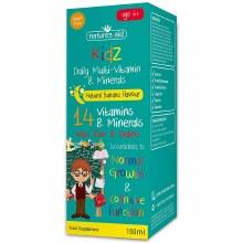 Kidz Milti-Vitamin & Minerals