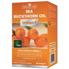 Omega-7 Sea Buckthorn Oil