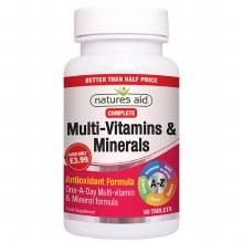 Multi Vitamins and Minerals