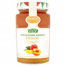 No Sugar Added Peach Jam