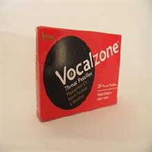 Vocalzone Throat Pstlles