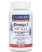 Berry Bursts Omega 3 For Kids