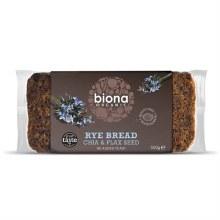 Org Rye Bread - Chia&Flax Seed
