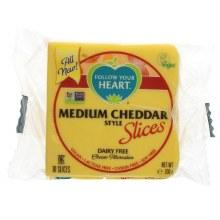 FYH Med Cheddar Slices