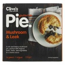Cliv Org GF Mush Leek Pie