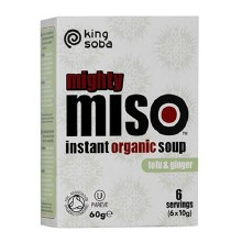 Miso Soup Tofu and Ginger