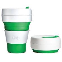 Stojo Pocket Cup Green