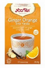 Ginger Orange with Vanilla Tea