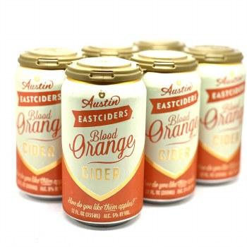 Austin Eastcider: Blood Orange Cider 6 Pack