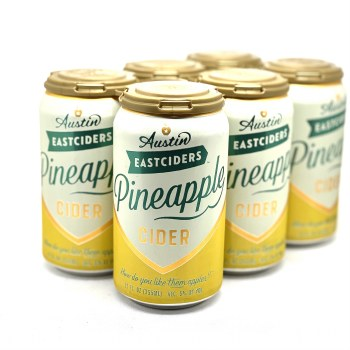 Austin Eastcider: Pineapple Cider 6 Pack