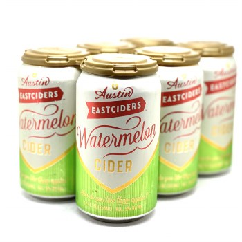 Austin Eastcider: Watermelon Cider 6 Pack