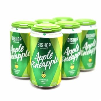 Bishop Cider: Apple Pineapple 6 Pack