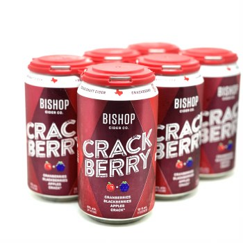Bishop Cider: Crackberry 6 Pack