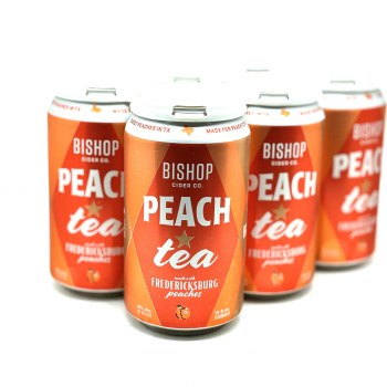 Bishop Cider: Peach Tea 6 Pack