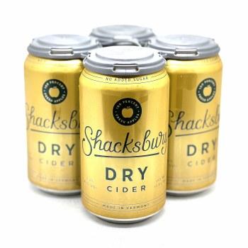 Shacksbury Cider: Dry 4 Pack