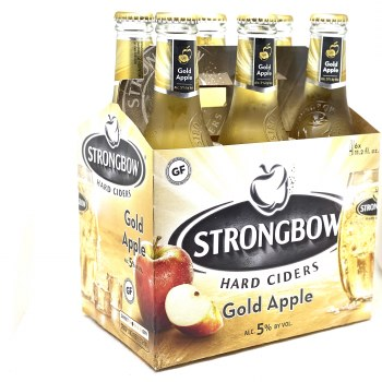 Strongbow Cider: Gold Apple 6 Pack
