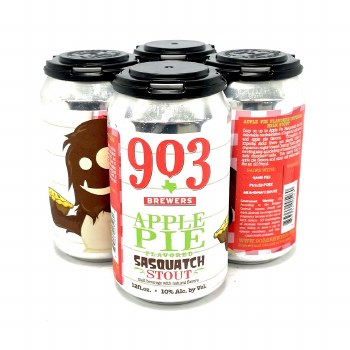 903 Brewers: Apple Pie Sasquatch 4 Pack Cans